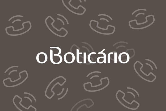 Telefone O Boticário