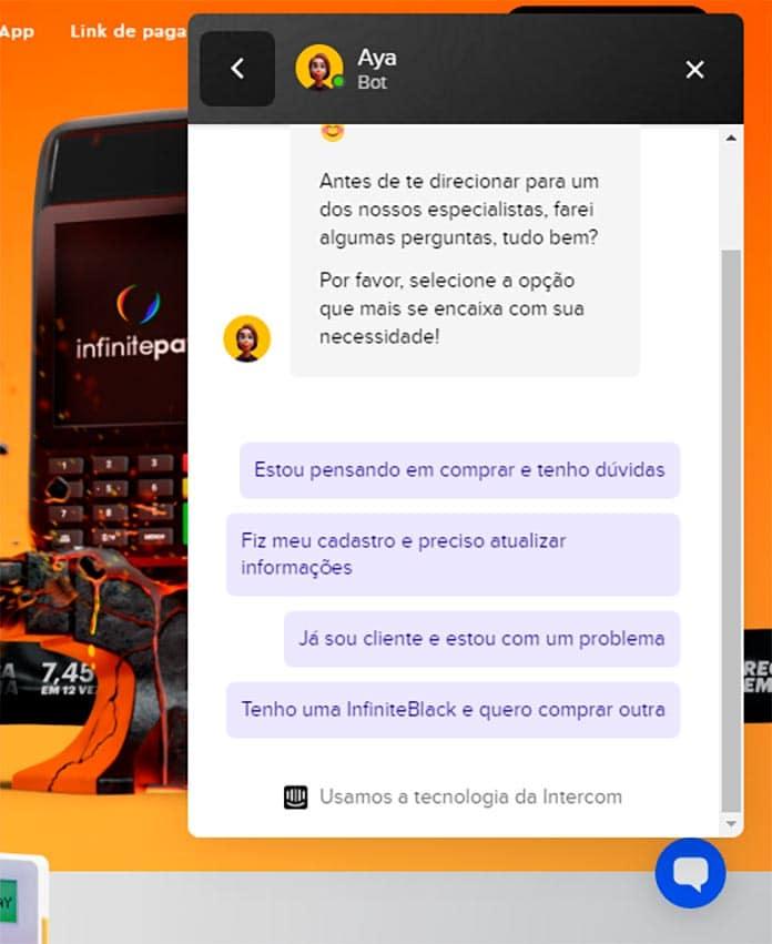 Chat InfinitePay 02