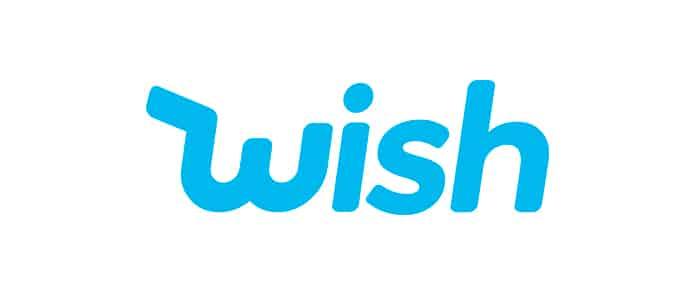 Logo da Wish