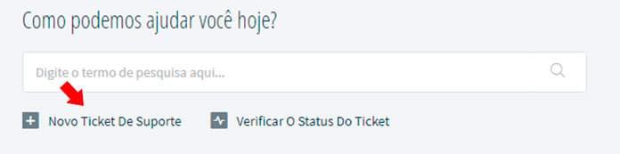 Como solicitar um novo ticket na Pichau